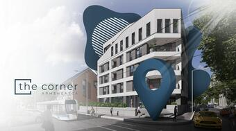 The Corner Armenească residential project launched successfully: 50 pct booked